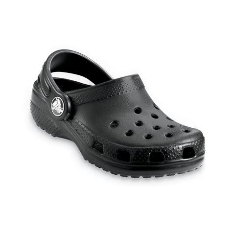 croc kid shoes crocs classic shoe black the original croc shoe