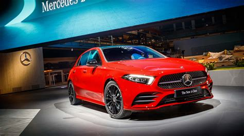 scow a class 4th generation mercedes benz a class premieres in