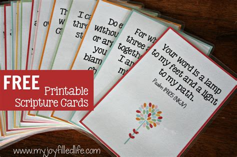 free printable bible postcards hide em in your heart scripture cards free printable