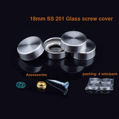 flat mirror screws decorative 201 stainless steel