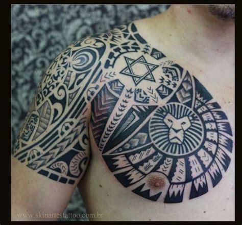 tattoo tribal ombro e braço tatuagem 3d masculina no ombro pesquisa google tattoo