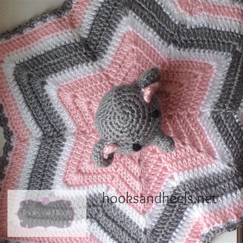 decke yakwolle elephant lovey 5 crochet patterns