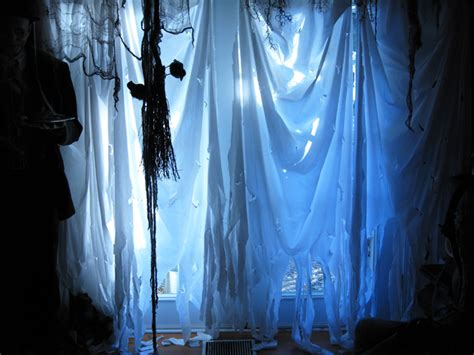 Haunted House Curtains