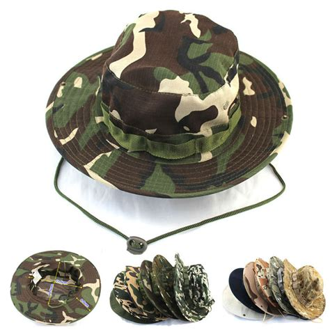 military hats boonie hats military apparel newest fashion camouflage mountaineering caps for men