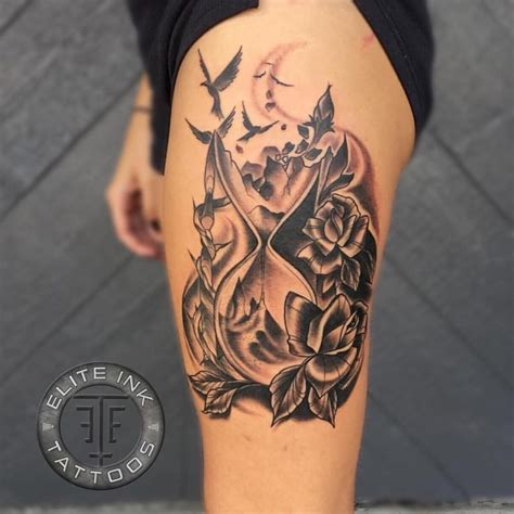broken hourglass tattoo 62 best hourglass design ideas with meaning