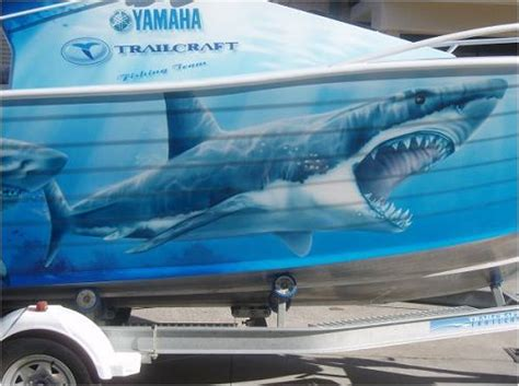 shark fishing boat names airbrush boats and jet skis by advanced airbrush all