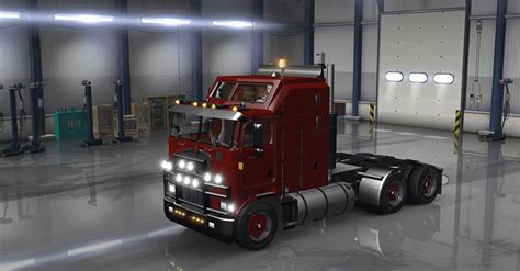kenworth bus kenworth k100 fixed by solaris36 truck ats mod