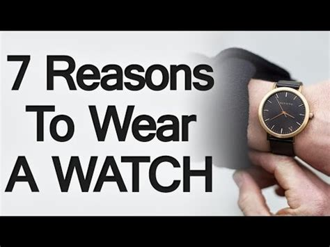 7 Reasons To Start Wearing 7 reasons why you should start wearing a wrist