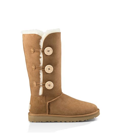 ugg boots s bailey button triplet ii boot ugg 174 official