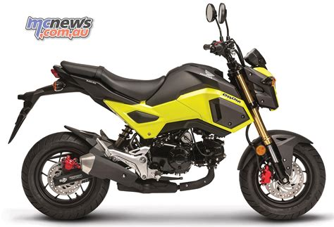 honda grom honda grom now comes in some funky colours mcnews au