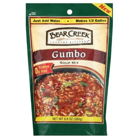 creek country kitchens soup creek country kitchens gumbo soup mix 9 8 ounce bags