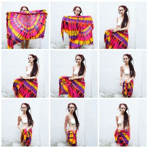 how to drape a sarong 123 best how to tie a sarong images on pinterest