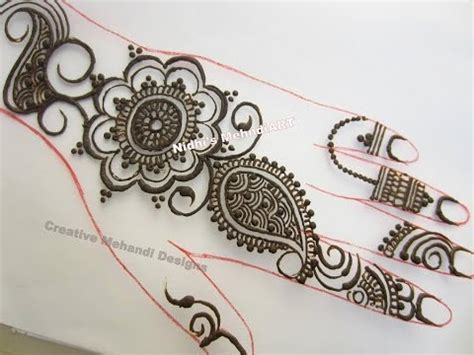 step by step tutorial for henna pattern our external simple floral henna mehndi design step by step tutorial