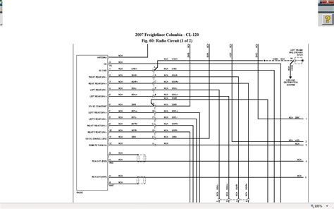 wiring diagram for freightliner radio get free image