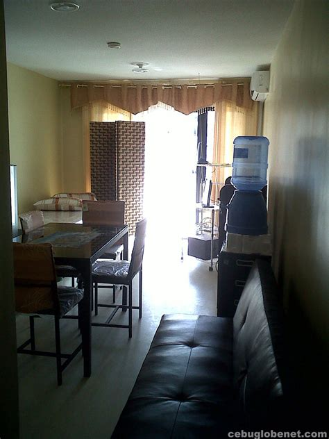 living room for rent one bedroom furnished for rent in one oasis condominium mabolo