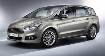 2015 Ford Minivan All New 2015 Ford S Max Seven Seater Minivan