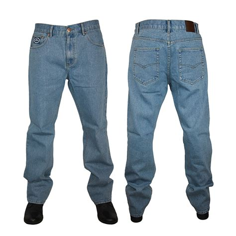 Forge By Kam Jeans Mens F101 Comfort Fit Jeans All Waist