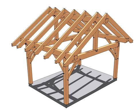 design timber frame 12x16 timber frame porch