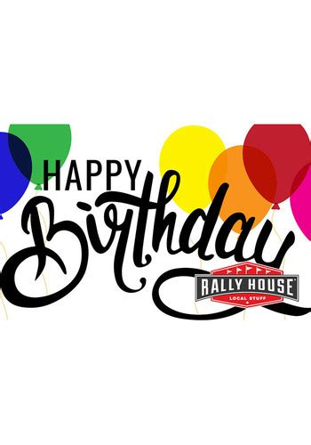 Rally Gift Cards - rally house happy birthday gift card 999911156