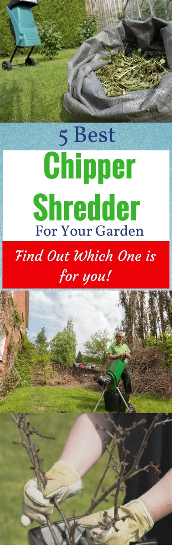 best chipper shredder for home use top 5 reviews 2018