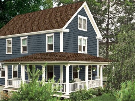 Cape Cod House Color Schemes certainteed traditional exterior