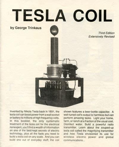 Tesla Coil Radio The Tesla Coil Nikola Tesla