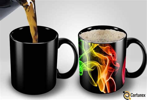 color changing coffee mug magic coffee mugs heat sensitive color changing coffee mug