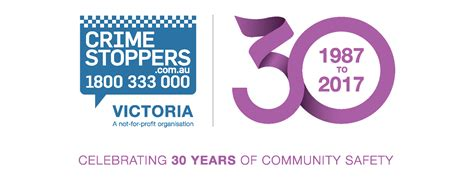 30 th anniversary crime stoppers 30th anniversary crime stoppers