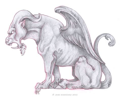 gargoyle sketches pictures to pin on pinterest pinsdaddy