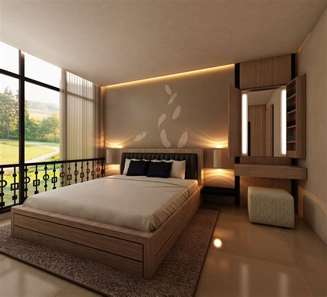 inspirasi gambar kamar tidur utama minimalis modern