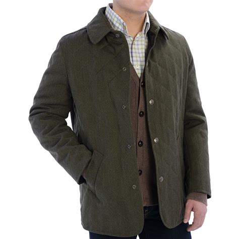 valstar husky wool barn coat quilted twill for in