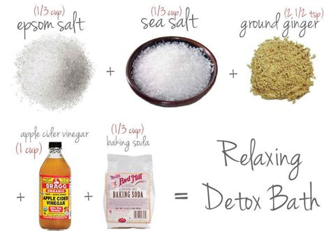 Detox Bath Weight Loss by Kick Your Excess Pounds And Bad Mood With Simple Detox Bath