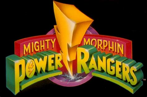Topi Jaring Power Rangers Logo Classic mighty morphin power rangers swallowed whole wiki