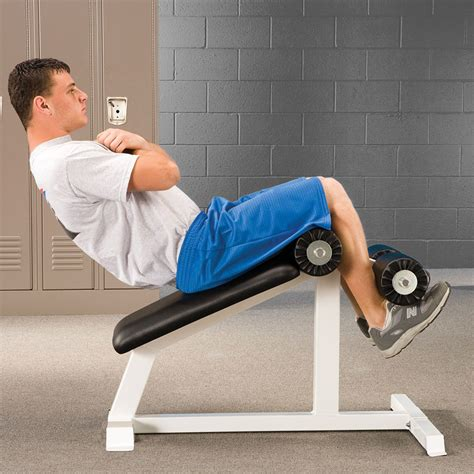 sit ups on a bench mini abdominal sit up bench bomb proof bp 12