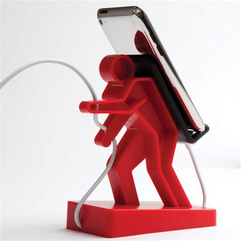 mobile phone holders boris phone holder homeware furniture and gifts mocha