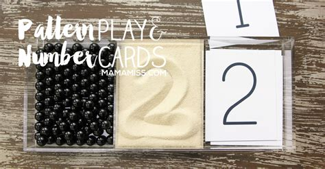 pattern play youtube pattern play and number cards