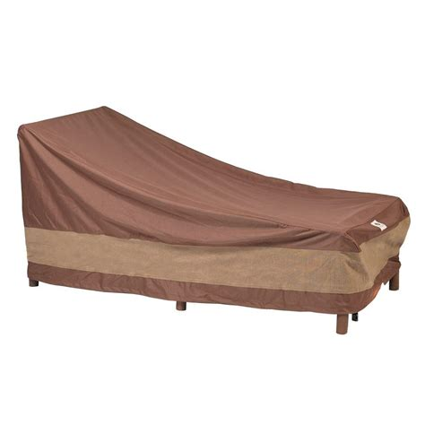 Duck Covers Ultimate 86 in. L Patio Chaise Lounge Cover
