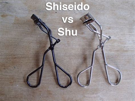 Shiseido Eyelash Curler review comparison shu uemura vs shiseido eyelash