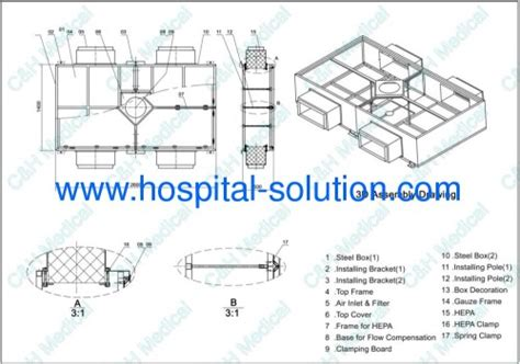 laminar flow in the operating room china total solution for modular operating theatre for hospital clean rooms projects
