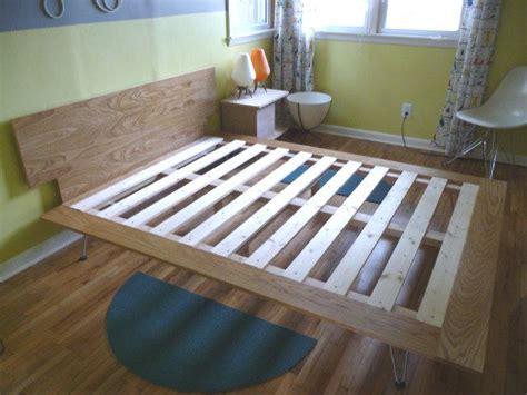 diy platform bed buy hairpin legs off etsy ebay etc to craft pinterest diy platform