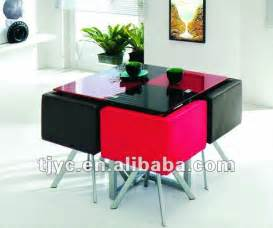 Round Table Pads For Dining Room Tables space saving dining set simple home decoration