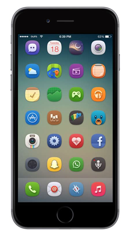 top themes for iphone 6 plus the best winterboard themes for ios 8 iphone 6 and iphone