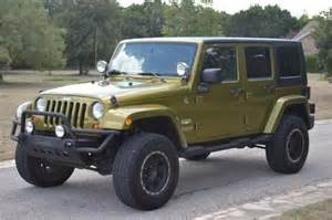 Jeep Wrangler Four Door Gas Mileage Buy Used 2007 Jeep Wrangler Unlimited 4x4 4wd 4