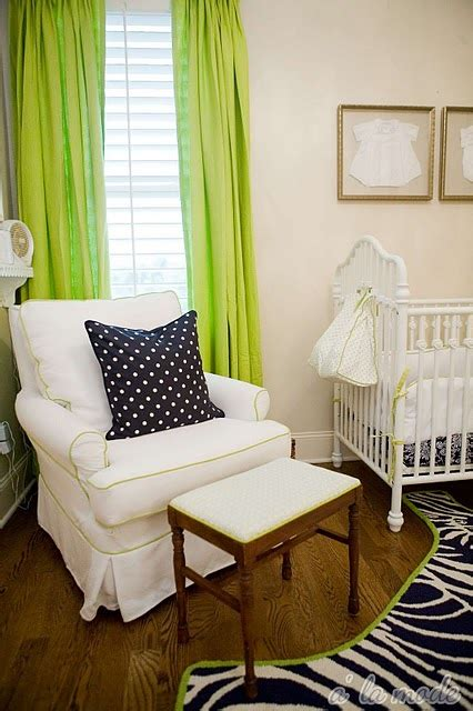 Green Curtains For Nursery Neon Green Curtains Contemporary Nursery Sherwin Williams China Doll A La Mode Maven