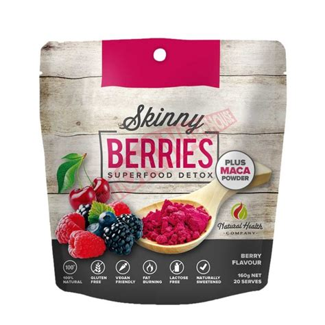 Detox Of Companies by Berries Superfood Detox By Health Company