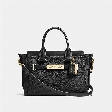 Coach Swagger Bag By Bagladies coach swagger 27 in pebble leather