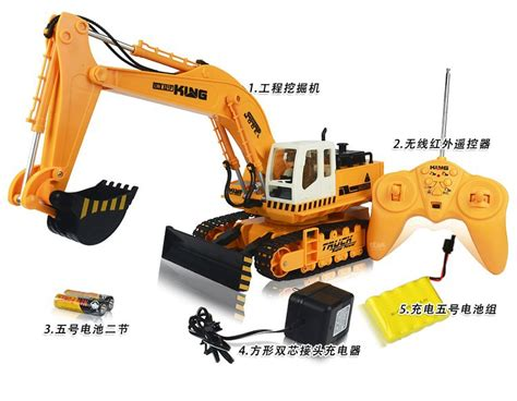 Mobil Truck Engineering 777 52 Mobil Digger wireless remote car large engineering vehicles