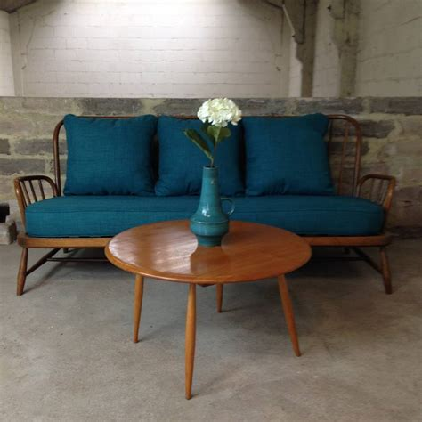 ercol jubilee sofa vintage ercol jubilee sofa in teal by iamia