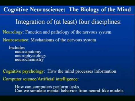 b07hyyggt1 les neurosciences cognitives dans la a concise definition of cognitive neuroscience uc
