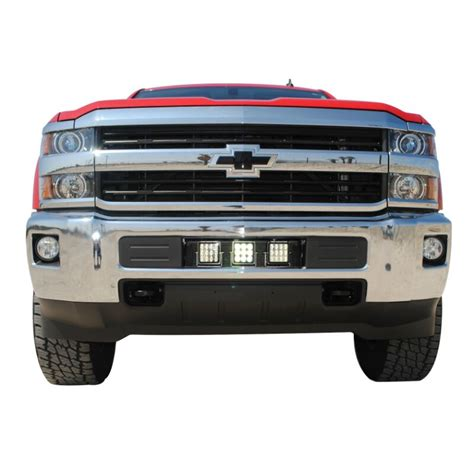 chevy silverado led light bar mount socal supertrucks led bumper light mount 15 17 chevy silverado